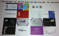 Verzamelvel visitekaartjes